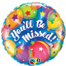 "You'll Be Missed Foil Balloon (18"") 1pc"